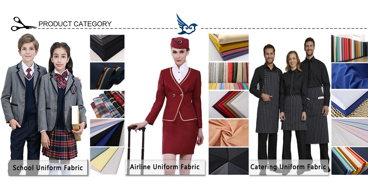 Office uniforms fabric